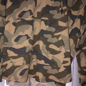 Cable & Gauge Jackets & Coats - Cable & Gauge Camo Light Sweatshirt
